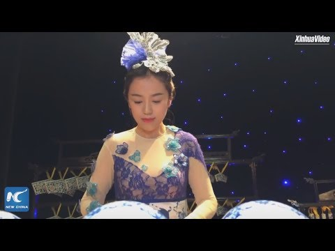 "Concert with porcelain instruments in China's ""porcelain capital"""