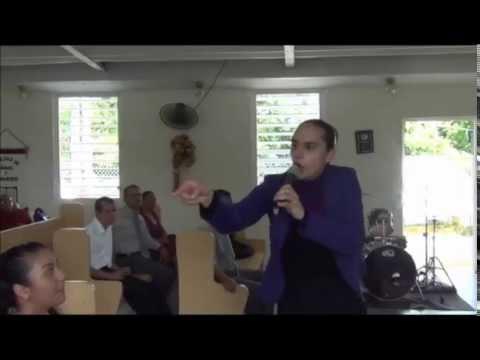 Evangelista Nanichy Rivera - Tema: La voz del Señor es la que ...