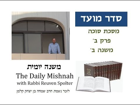 Sukkah Chapter 2 Mishnah 2