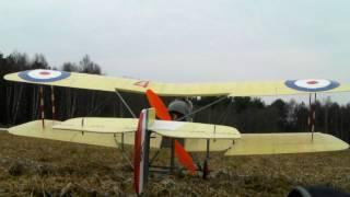 Video 1: De Havilland / AIRCO DH 2 scale 1/9 . Mike Roach plan.