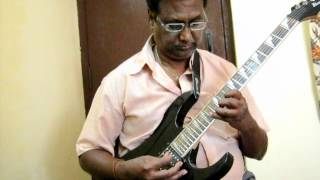 YEDHUTA NILICHINDI CHOODU(VAANA) ON GUITAR BY VIJAYARAJ