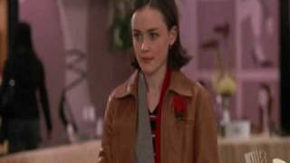 Gilmore Girls Scene In a Mall Part