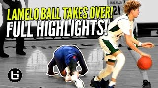 LaMelo Ball TAKES OVER In Chino Hills Comebac...