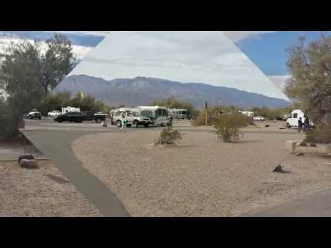 Furnace Creek Campground and Visitor Center- Death Valley National Park