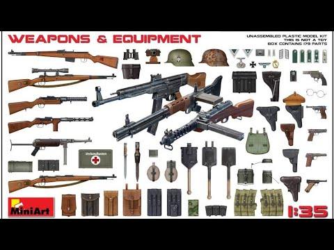 Miniart's 1/35 German Weapons Set | Model Monday Ep. 13