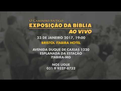 O Caminho Antigo - Exposição da Bíblia em Itabira, MG