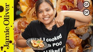 Thai Sweet Chilli Eggs | Cooking With Poo