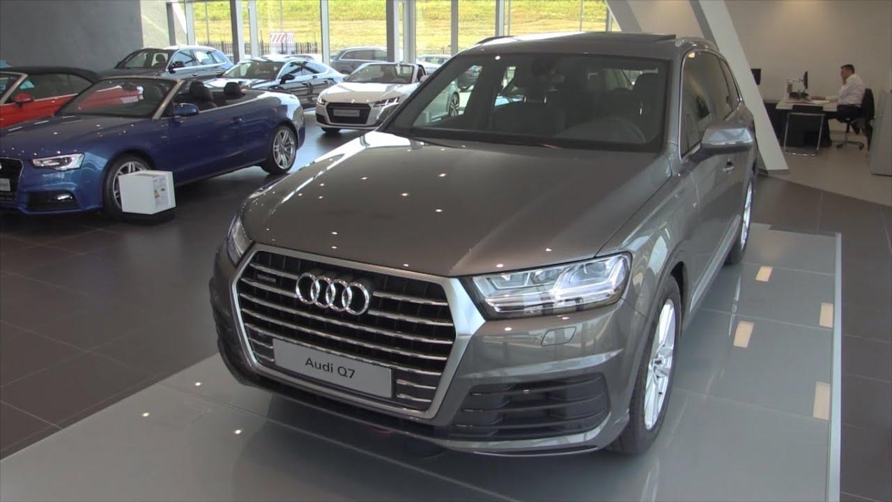 Audi 2016 audi q7 : Audi Q7 S Line 2016 In Depth Review Interior Exterior - YouTube