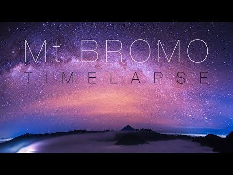 Mt Bromo: The Ultimate Volcano Time Lapse Movie