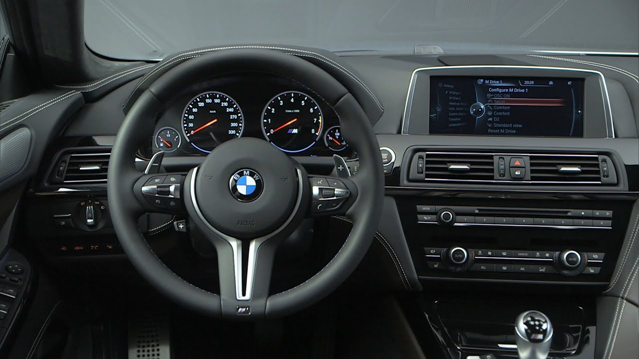 Bmw M6 Gran Coupe >> 2013 BMW M6 Gran Coupe - INTERIOR - YouTube