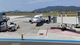 AIRBUS A320 TAXIANDO - LATAM - FLORIANÓPOLIS (TAXING AIRPLANE)
