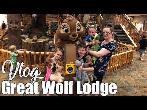 Great Wolf Lodge - Mason | Wave Pool & Saving The Planet | Family Travel Vlog