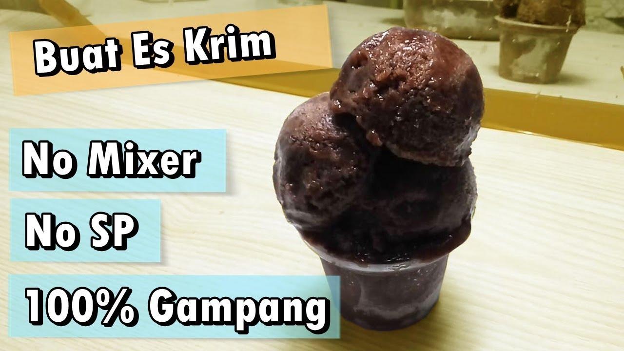 How To Make Soft Ice Cream No Mixer No Sp Ice Cream Recipe