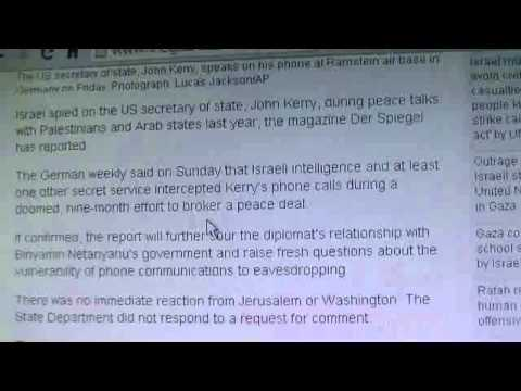 Israel Yet Again Spies on the United States of America