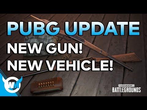 PUBG Update: Another New Gun, New Vehicle, Desert Map/Xbox Soon! - BATTLEGROUNDS NEWS