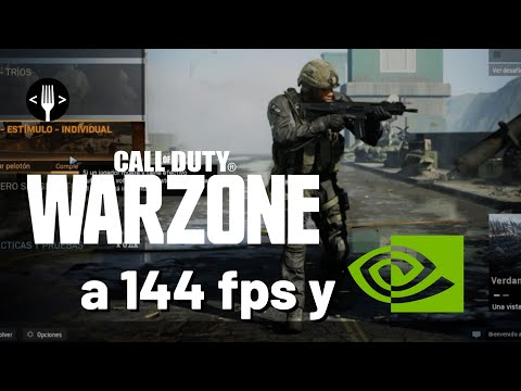 Jugamos Call of Duty Warzone a 144 fps