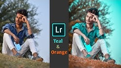 Teal & Orange Color Correction Editing Tutorial in Lightroom - Step by Step in Hindi    SK EDITZ