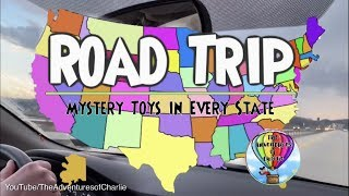 Road Trip - TOYS IN EVERY STATE - Monsters Inc, Cars, Roblox, Grumblies