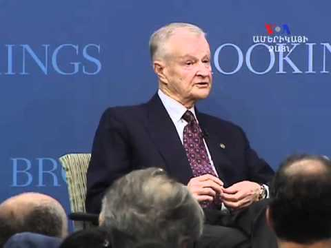 Zbignew Brzezinski speaks at Brookings institution