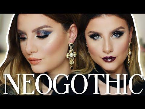 Make Up Tutorial Trucco Occhi, Viso e Labbra  + Swatches | Collezione NEOGOTHIC by Neve Cosmetics