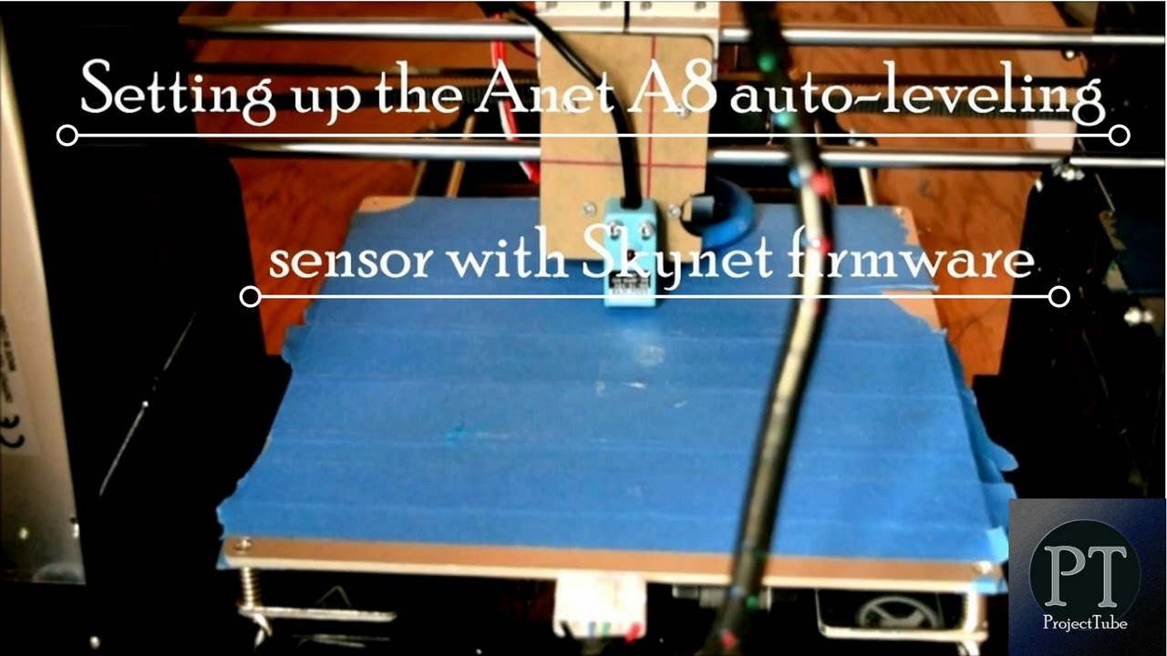 How To Set Bed Leveling Sensor Position In Skynet