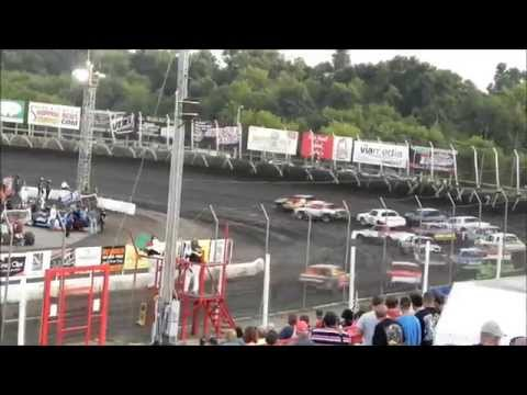 Hobby Stock Feature - Husets Speedway 8-10-14