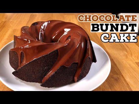 Chocolate Bundt Cake Recipe (Chocolate Espresso Bundt Cake) | Just Cook!