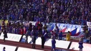 2015年J1第2節 ヴァンフォーレ甲府vs名古屋グランパスの試合終了後の甲...