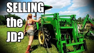 Are We Selling the John Deere Tractor?! (With Spoof Tractor Washing Ending)
