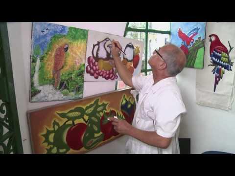 Pintura de la selva, arte y TIC #ViveDigitalTV