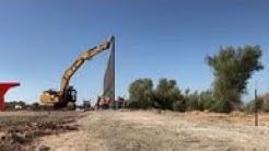 Border Patrol building 30-foot wall in Arizona