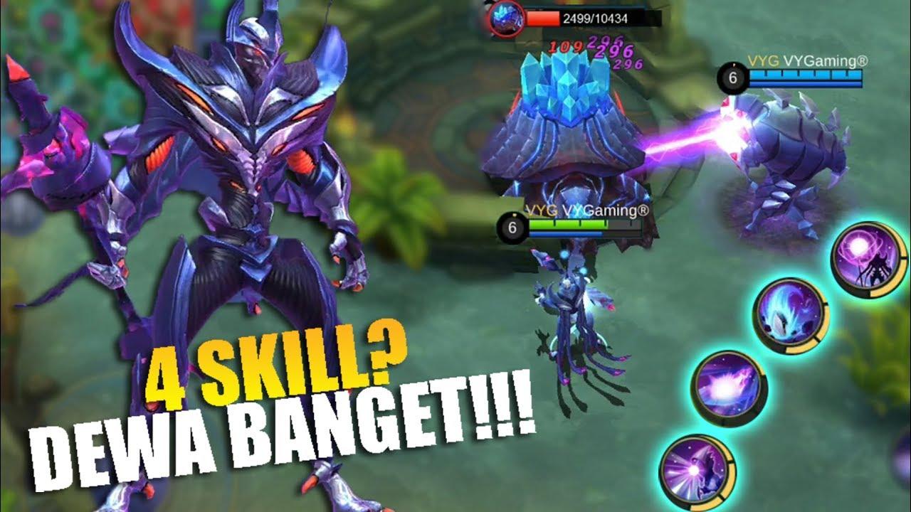 HERO BARU ZHASK Punya 4 Skill Gila Dewa Ban Ini Hero Mobile Legends Indonesia