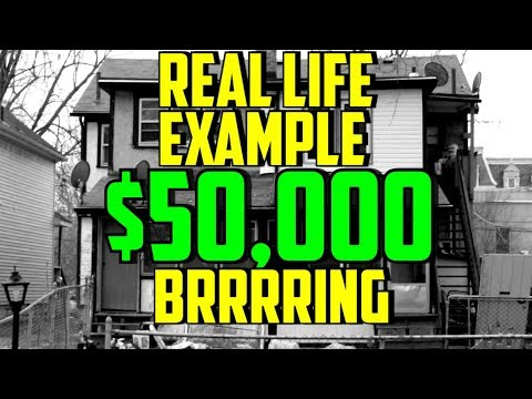 Real Life Example of BRRRR Real Estate Investing Method in Canada
