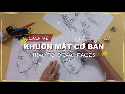 vẽ tranh chân dung lớp 8 tại kienthuccuatoi.com