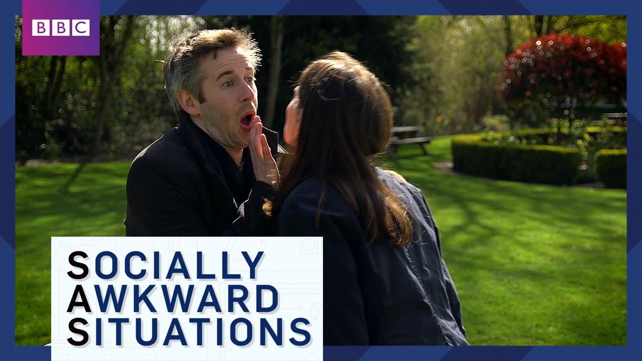 How to avoid awkward greetings socially awkward situations bbc how to avoid awkward greetings socially awkward situations bbc brit youtube m4hsunfo