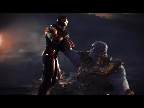 What If Avengers: Endgame Had A Dark Ending? - IRON MAN Vs. THANOS (Fight Scene)
