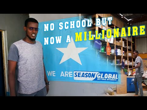 How A Young Somali Became A Million Without Formal Education!