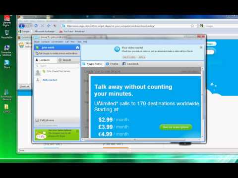 How to Install Skype in Vista