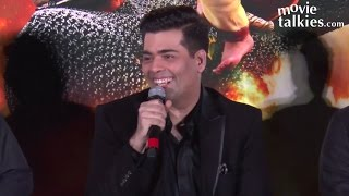 Karan Johar's FUNNY Interaction With Media At Baahubali 2 Trailer Launch