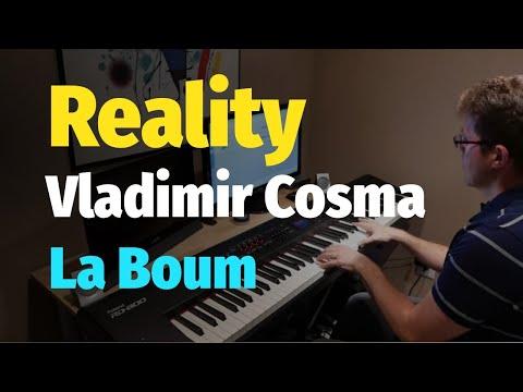 Reality (La Boum) - Vladimir Cosma (Richard Sanderson song) - Piano Cover & Sheet