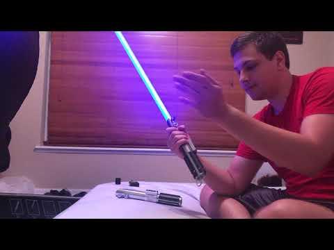 Rey's Lightsaber (Removable Blade) Overview