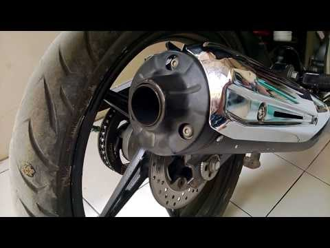 Knalpot standar bobokan Yamaha New Jupiter MX