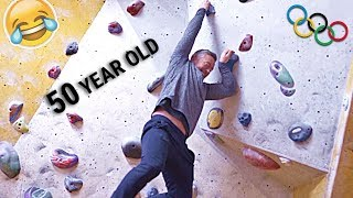 DAD DOES PRO CLIMBING! | Ft Molly Thompson Smith