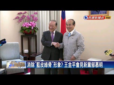 消除「藍皮綠骨」形象?  王金平會見新黨郁慕明-民視新聞