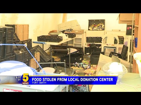 Steve Knoll - Jackass of the Week: Thieves that Stole from Fort Smith Charity