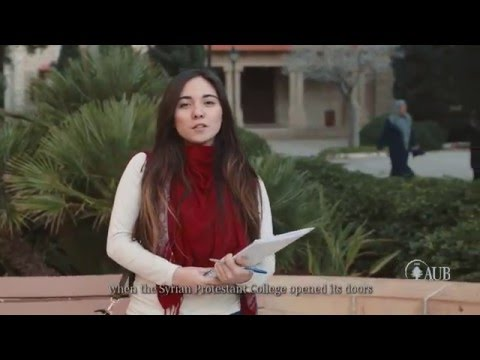 AUB 150th celebration video