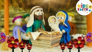 Joy to the World Christmas Songs for Kids   Christian Songs Compilation   Kids Faith TV