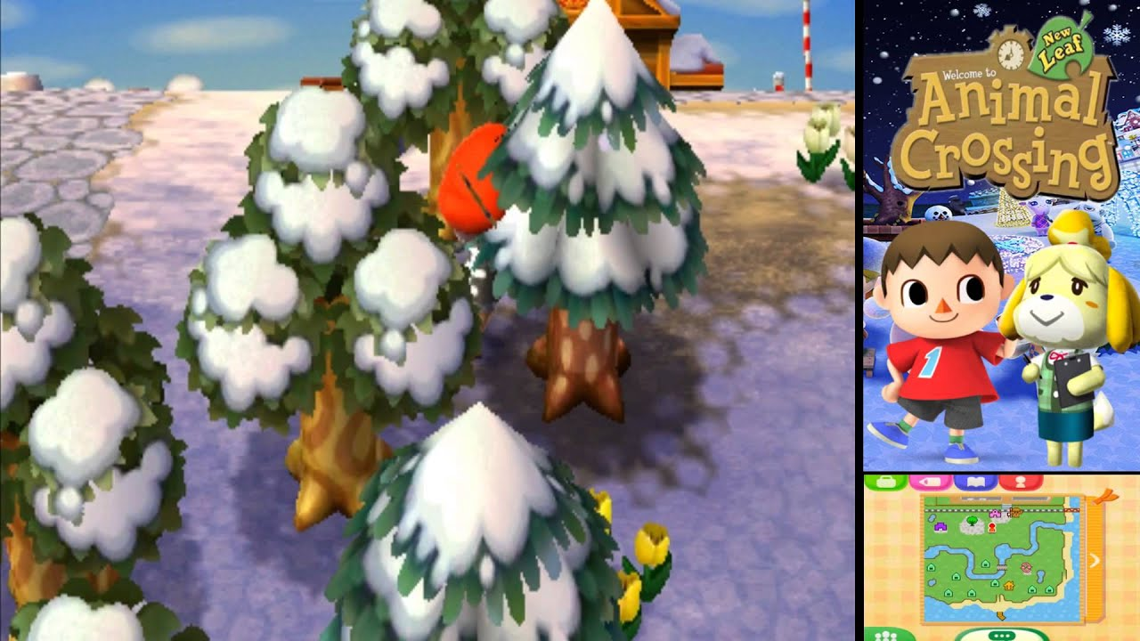 Animal Crossing New Leaf Planting Trees In Winter Leafjdico