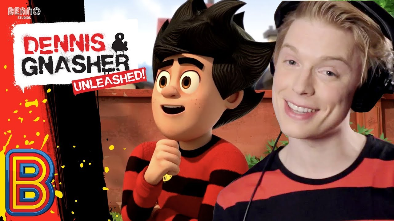 Freddie Fox The Voice Of New Dennis And Gnasher Unleashed