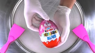 MAXI Surprise Egg - Ice Cream Rolls | kinder Surprise Egg with toy for Kids - Chocolate Ice Cream
